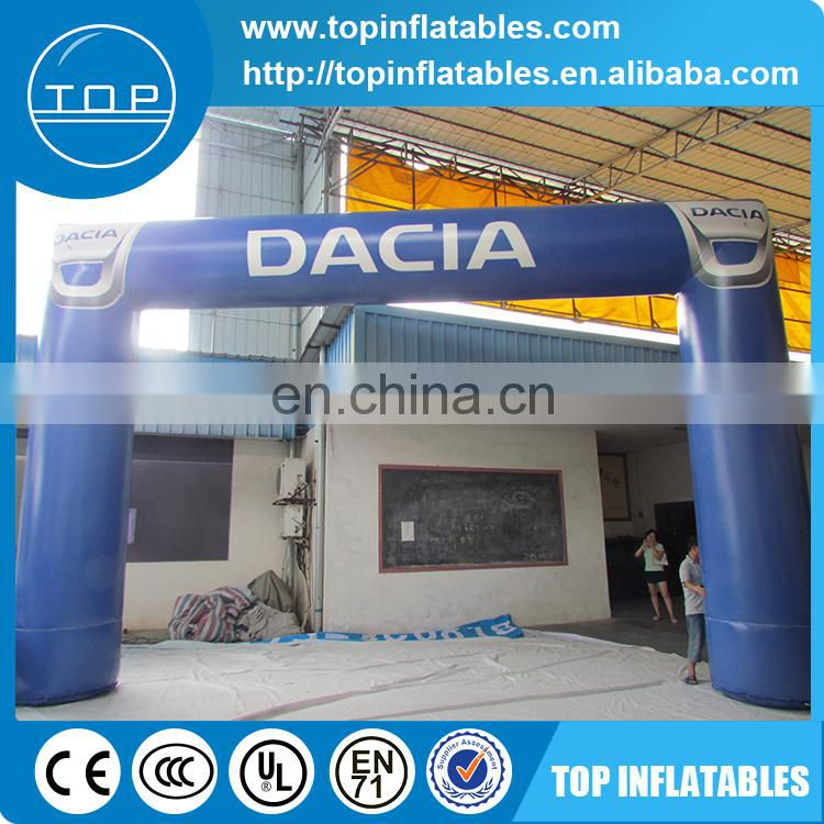 Good price inflatable finish line arch for outdoor activities