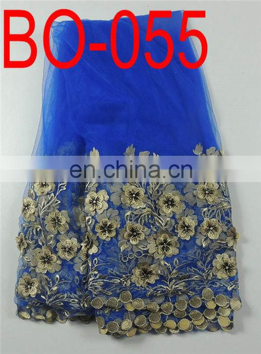 fashion french embroidery lace(BO-055)