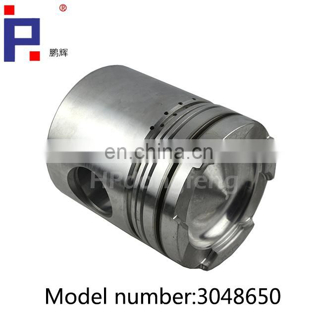 Dongfeng truck spare parts engine parts NT855 piston 3048650