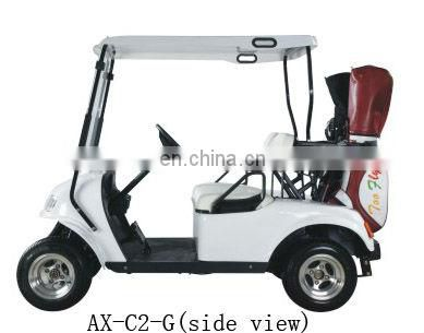 2 seater 48v electric street car golf cart with reasonable price and CE certificate|AX-B2-G