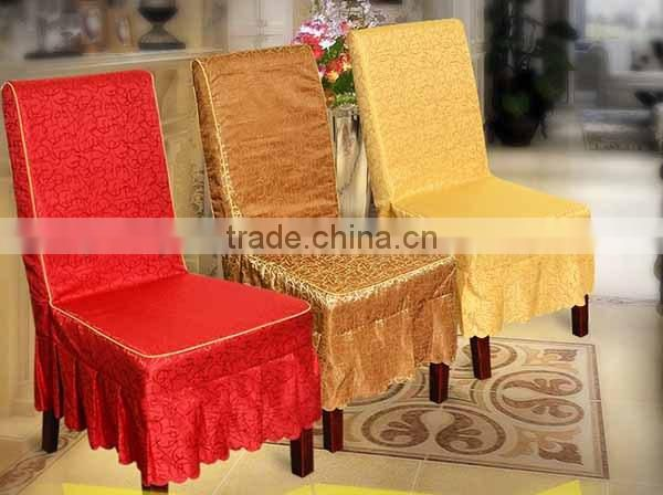 Jacquard chair cover , printed chair cover , embroidery chair cover