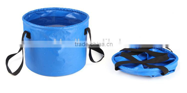 camping hiking multi function folding outdoor bucket barrel