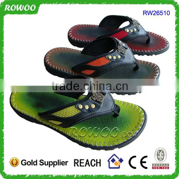 Latest Africa Summer Men New Design EVA Beach Slippers