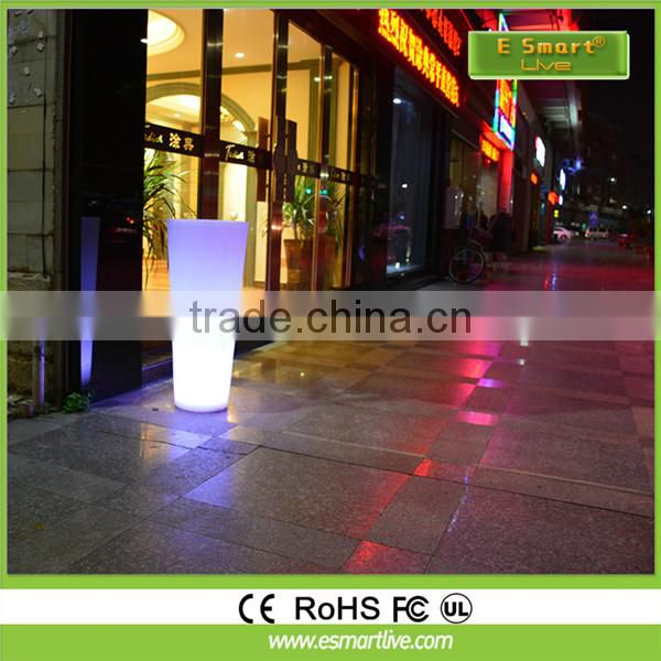 outdoor solar led plant pot light Cold white / Warm White AC/DC12V 24V 12SMD 5050 high power dimmable lighting