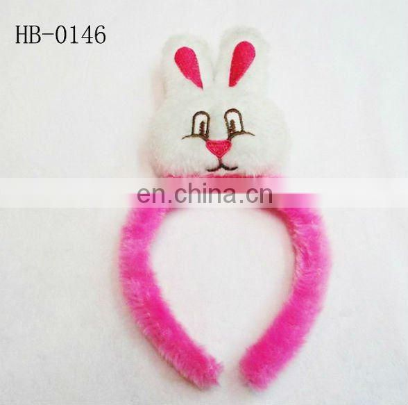 big ear rabbit feather easter headband