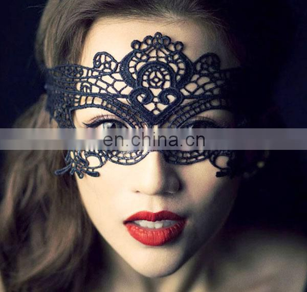 2015 Hotest Nice Design Women Party Lace Face Mask