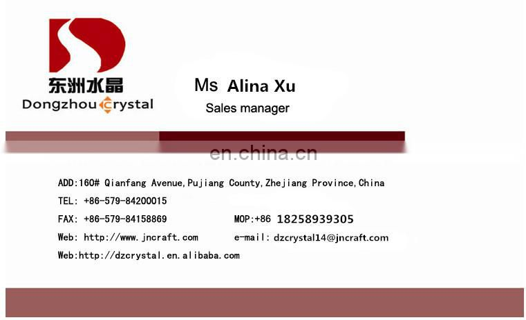 Dongzhou sew on crystal beads crystal Vitrail Medium for clothing