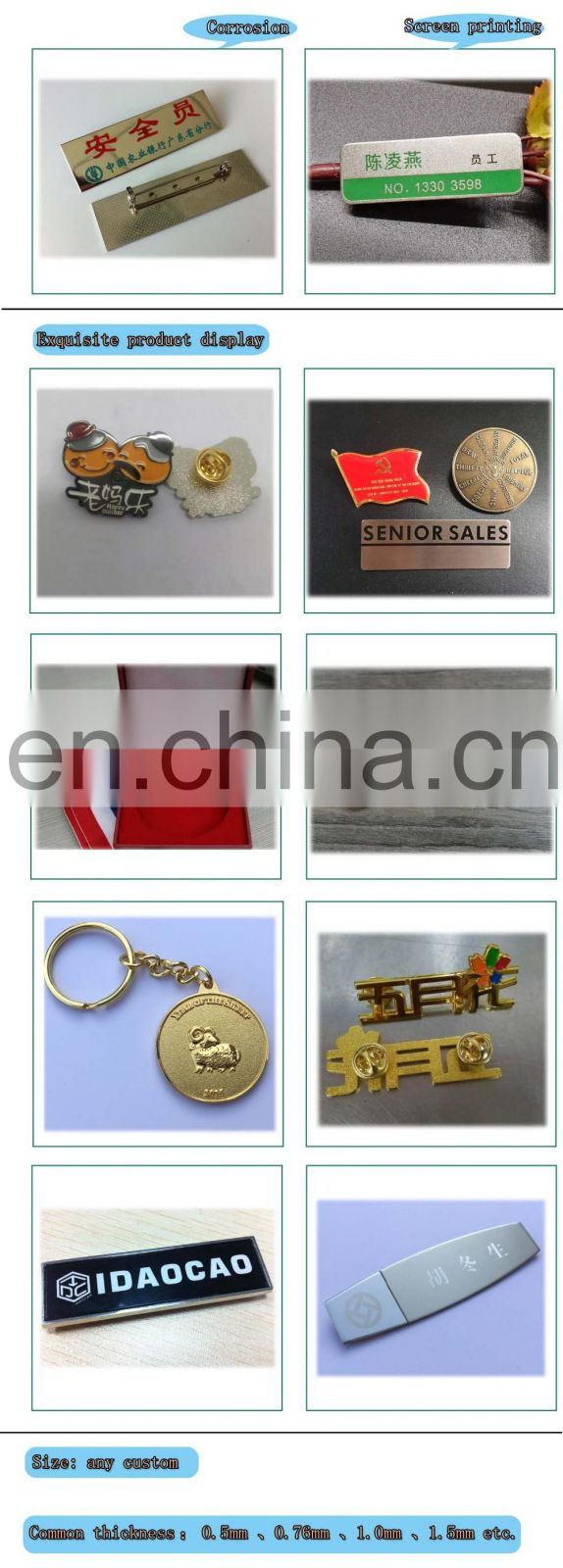 Hot Sale High Quality Cheap Price Car Badge Manufacturer From China