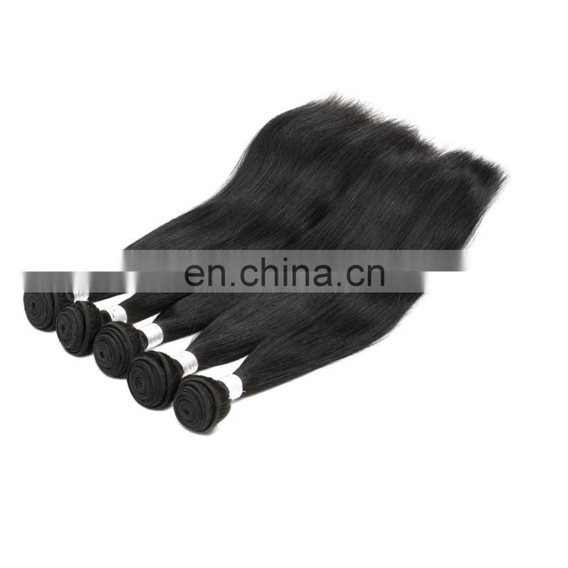 aliexpress 100% virgin cuticle aligned raw Indian human hair weave bundles