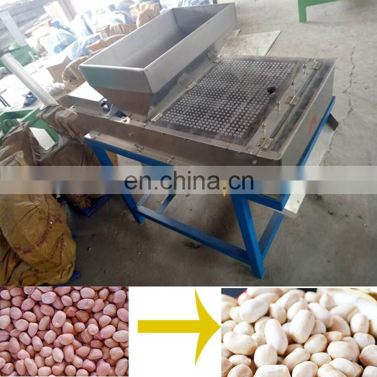 good quality dry peanut peeler groundnut red skin peeling machine on sale