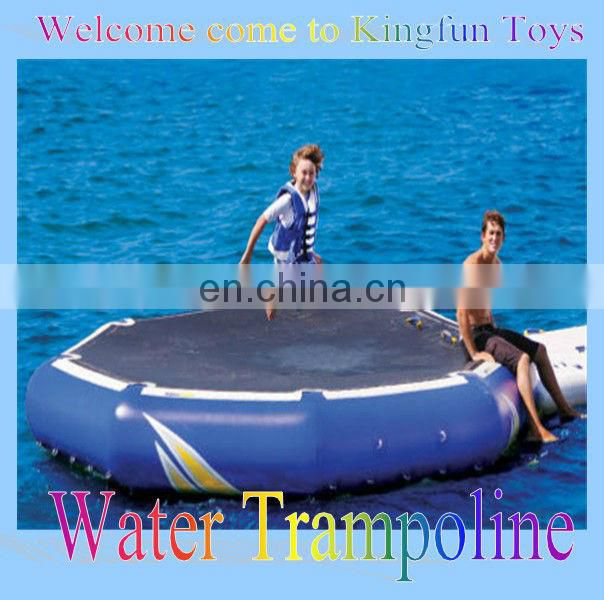 Hot sales Inflatable aqua trampoline,inflatable water trampoline for jumping