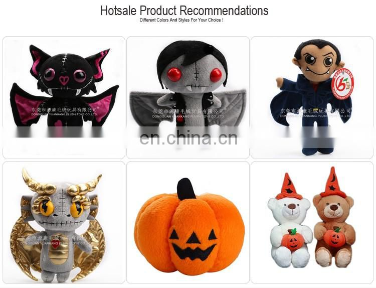 China Wholesale realistic black plush toys for Easter halloween holidays