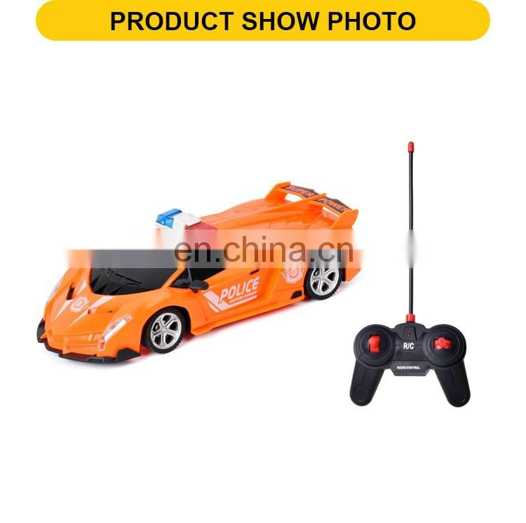 1:20 4Channel plastic model toy remote control high speed rc car