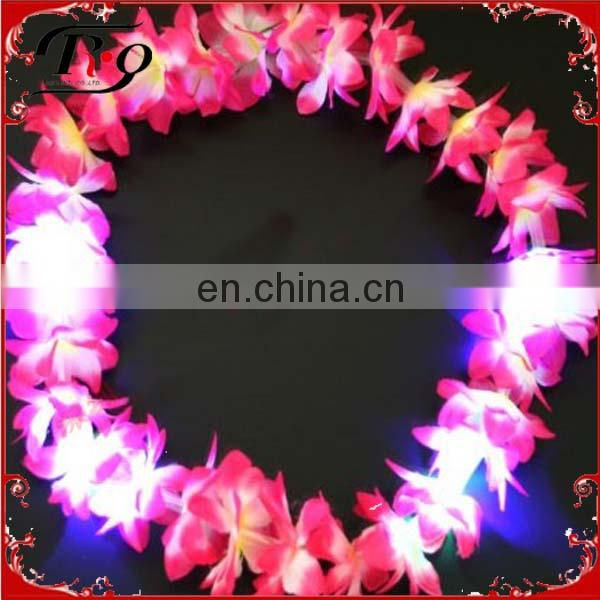 2014 new design led hawaiian flowers