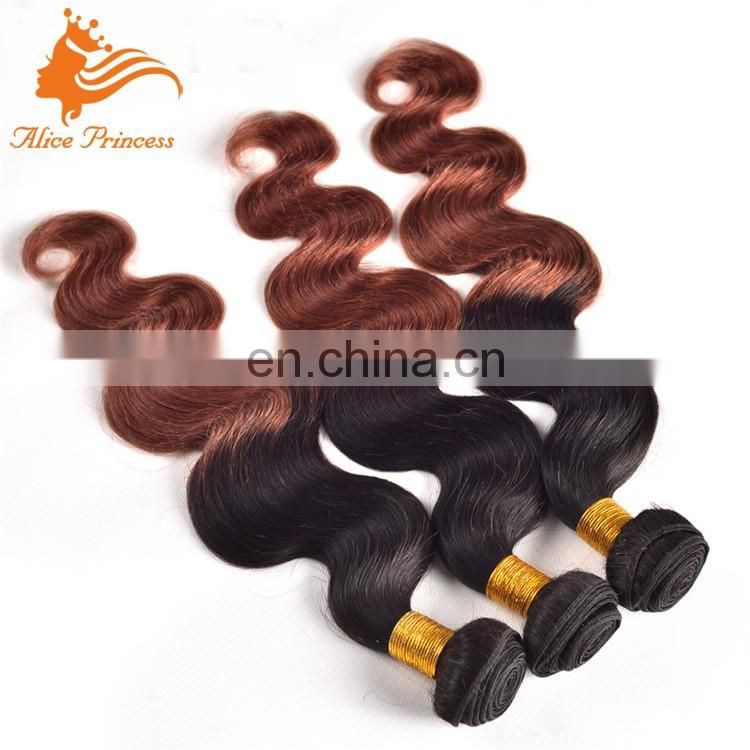 Top quality blue flat tip hair weave cheap colored silk and smoth brazilian hair weave