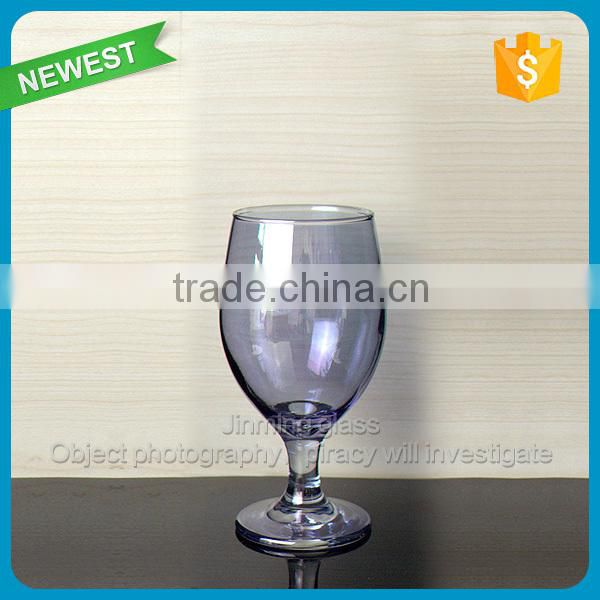 Gift Drinking Color Wine Glass Goblet Human Blown Purple Color Glass Cup Goblet Drinking Wine Glasses