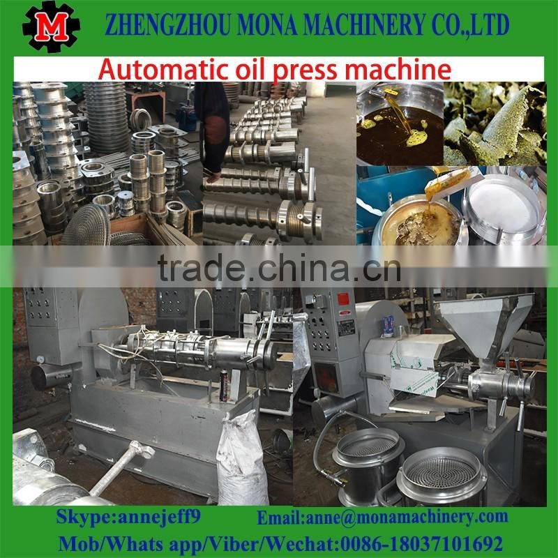 screw soybean oil mill/palm oil press/peanut oil press machine market in India