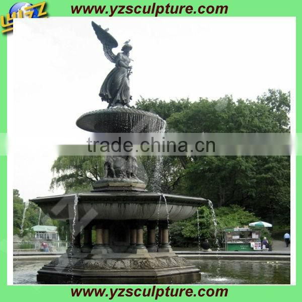 outdoor large brass angel fountain for sale