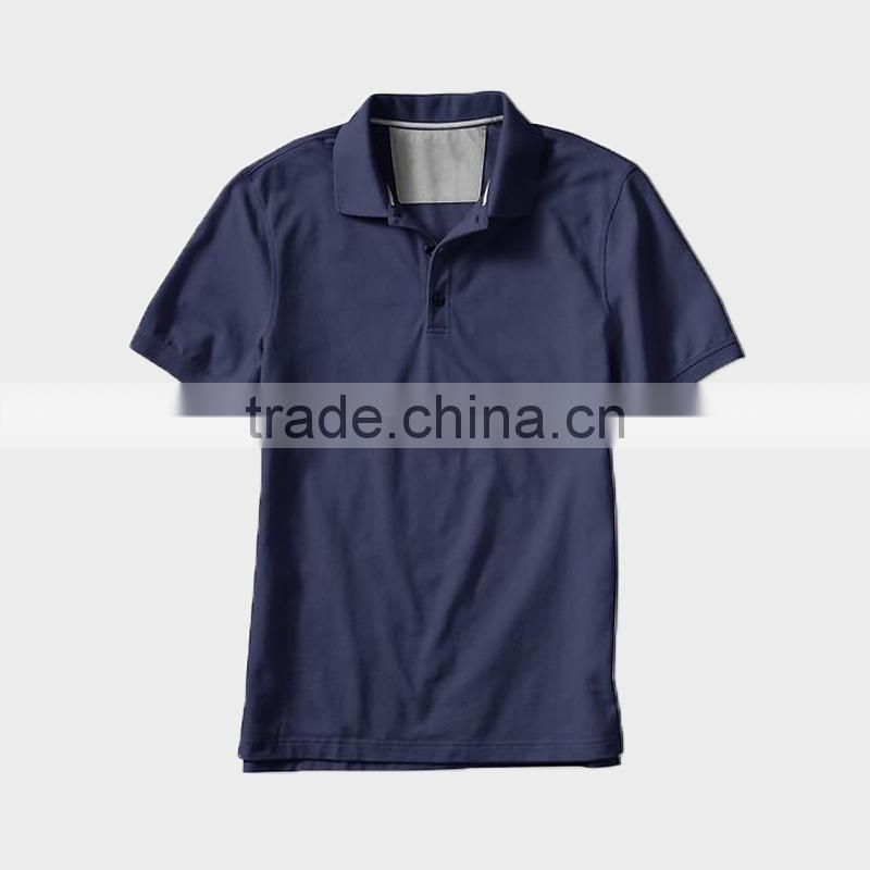 China alibaba summer short sleeve white high quality men's polo shirt