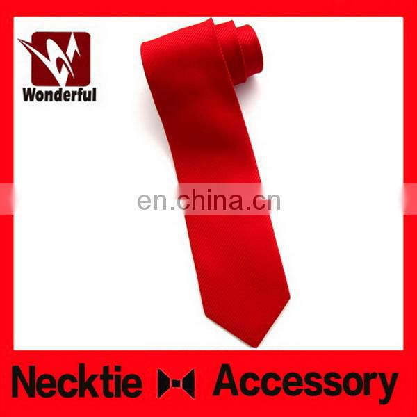 Top grade best sell 100% polyester woven wedding necktie