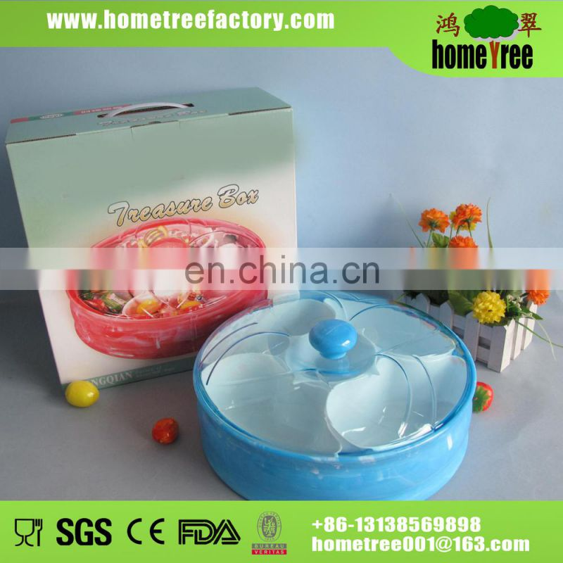 2014 new product fashion chinese new year round candy box