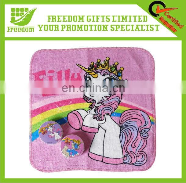 Round Shaped Promotional Cotton Compressed Towel