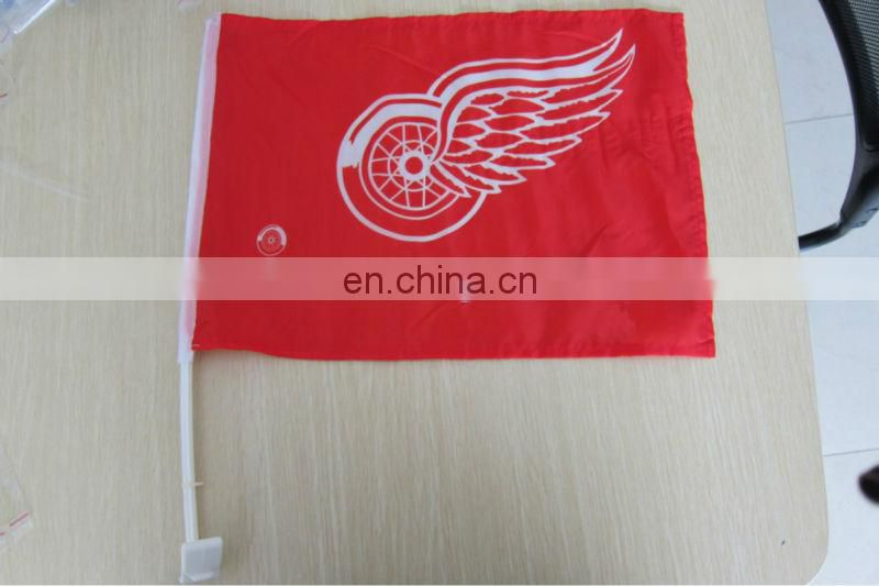 2017 popular design of car mirror cover flag