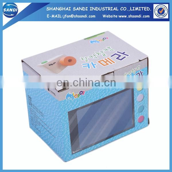 Custom packing corrugated paper box