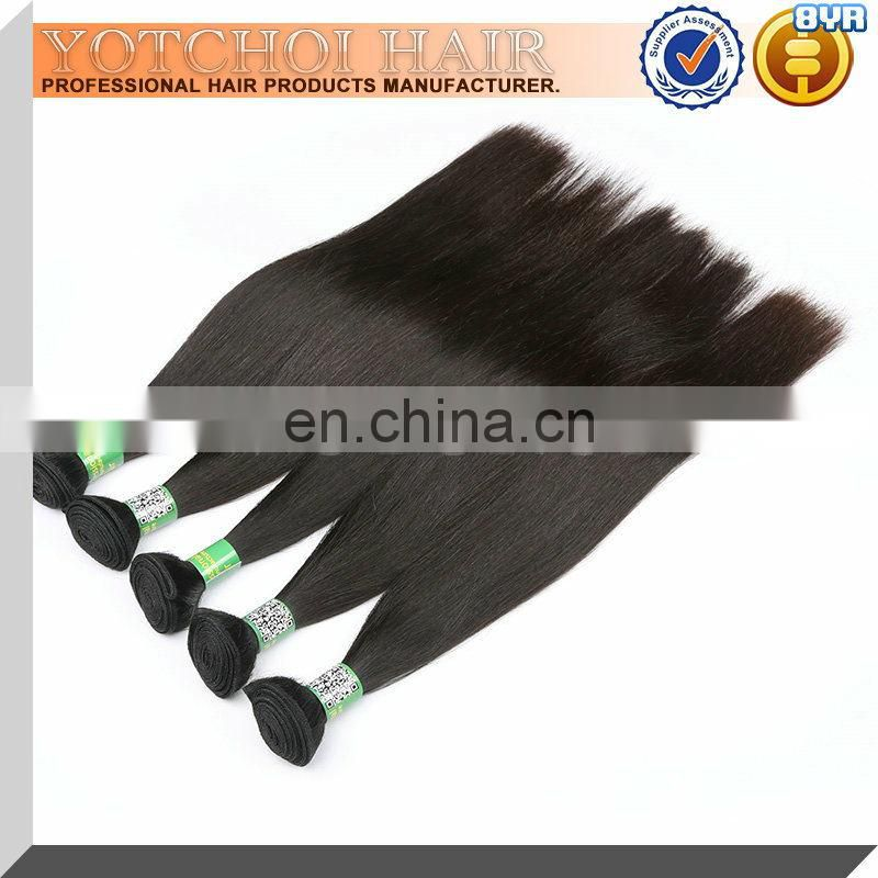 High Quality Cheap 100% Unprocessed Natural Raw Indian Hair