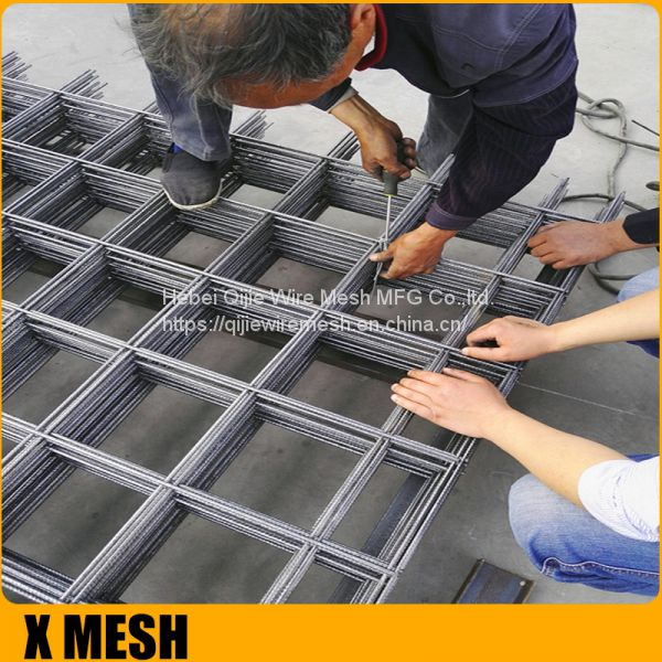 STANDARD SIZES SL102 welded wire concrete reinforcing mesh