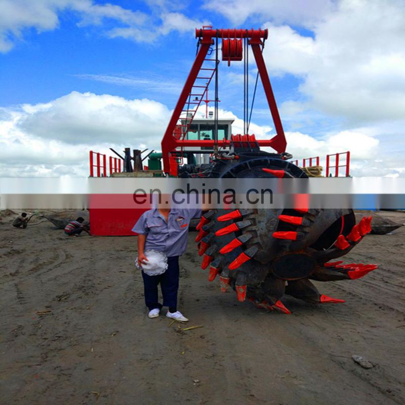 Used 18 Inch Cutter Suction Dredger For River Dredging Image