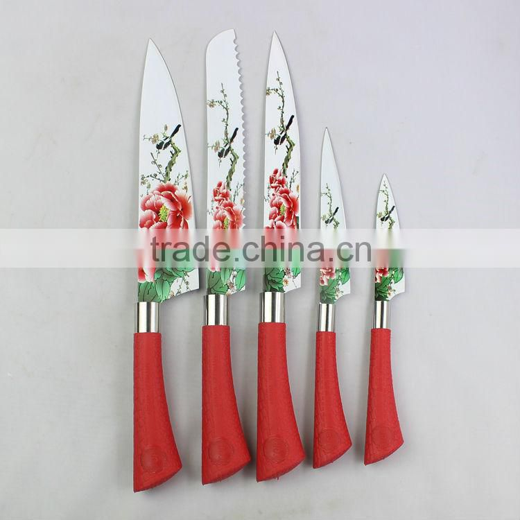 New style printing stainless steel knife