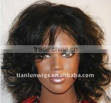 100% Indian remy hair lace wigs for Africa American women