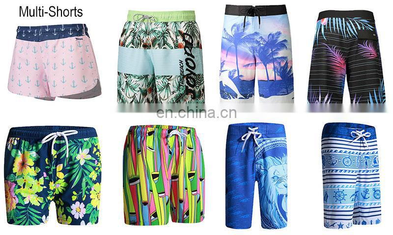China 4 way stretch beach apparel camouflage men bathing suit