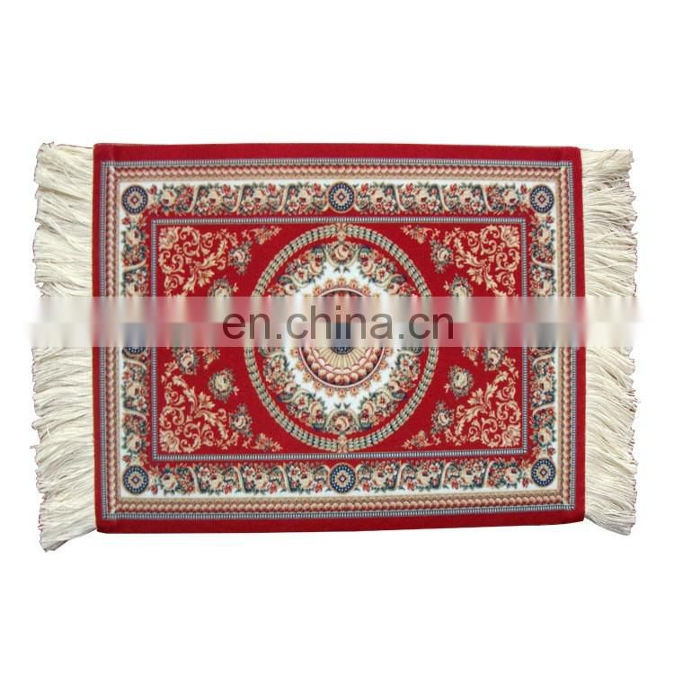 Customized printing eco-friendly oriental rug carpet mouse pad