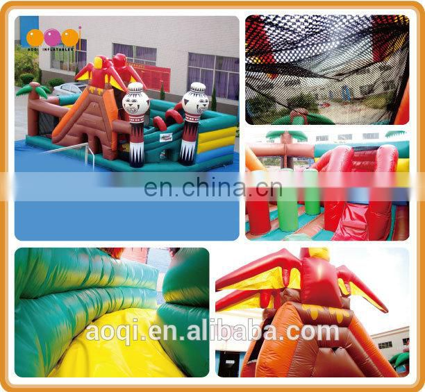 AOQI bird funcity /funny inflatable playground toys/cheap inflatable fun city