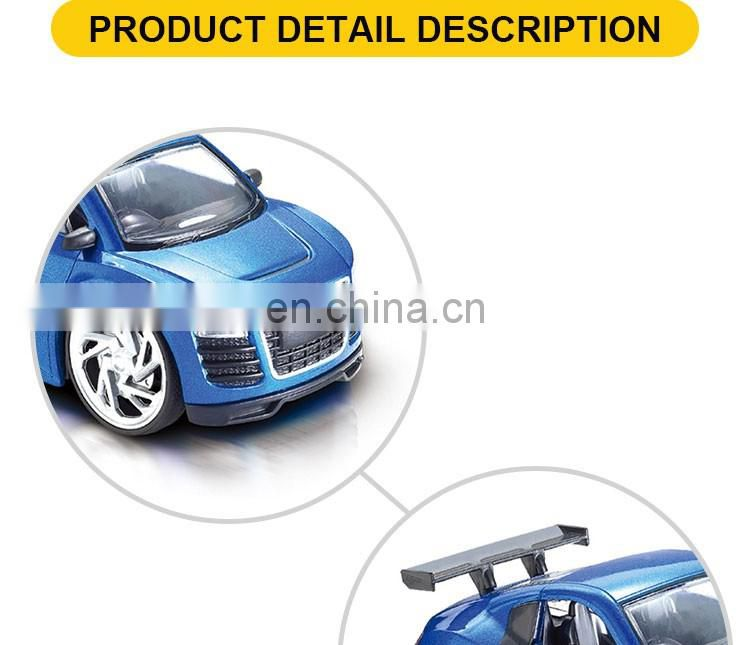 Hot selling rc remote control metal car kids smart toys