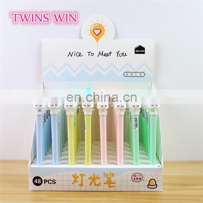 Libya hotsale school stationery items list with price photos ,Free samples eco-friendly plastic animal shaped color gel ink pen
