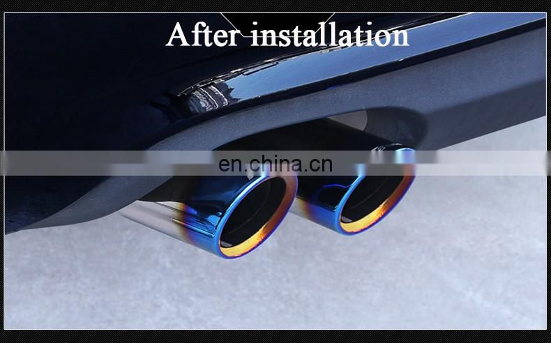 A6L exhaust tip Q3Q5Q7A3A5 original exhaust pipe modified A4L exhaust tip