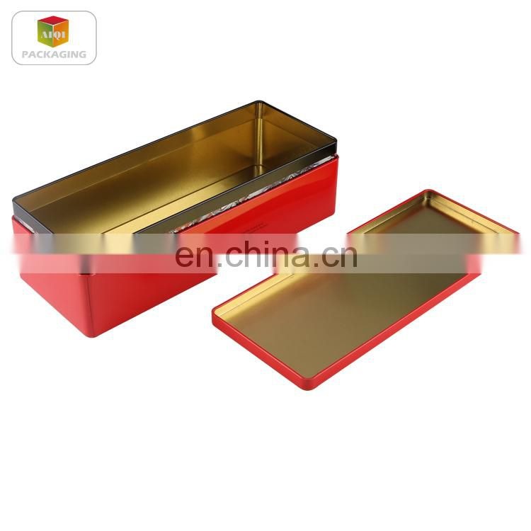 Storage metal tin box