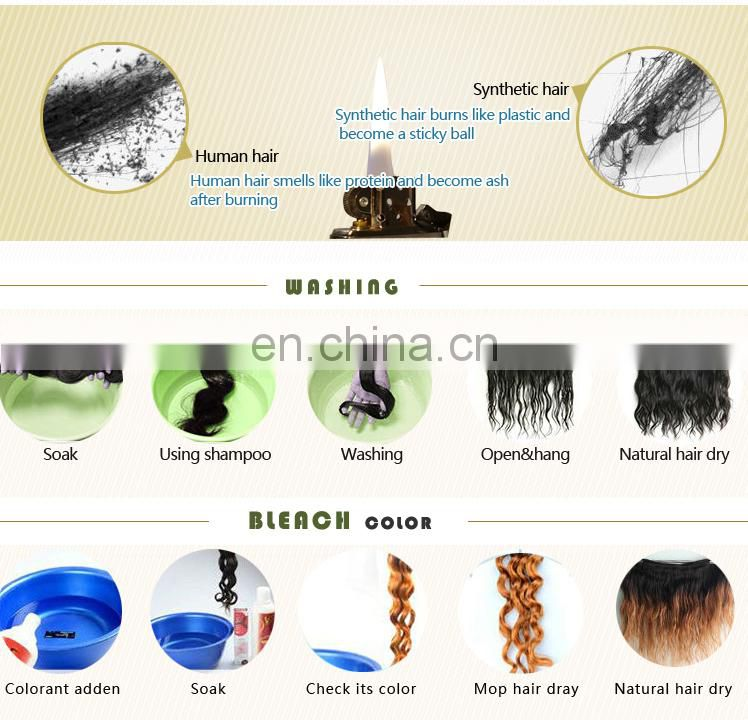 Charming hot beauty factory sale fashion product no chemical processed remy human hair extensions