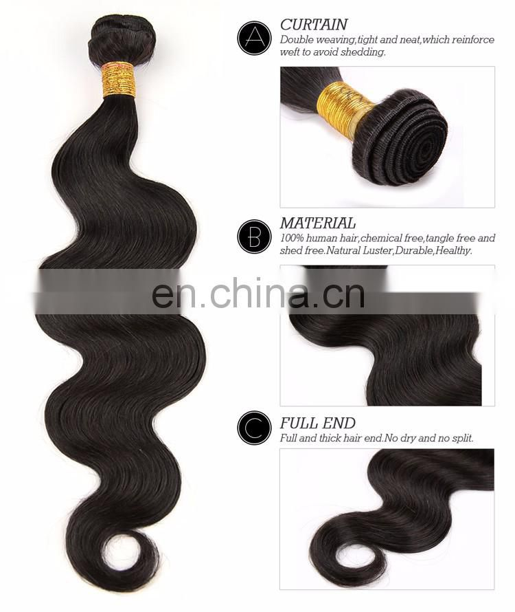 New Arrival virgin brazilian hair 3 tone ombre color natural hair extensions