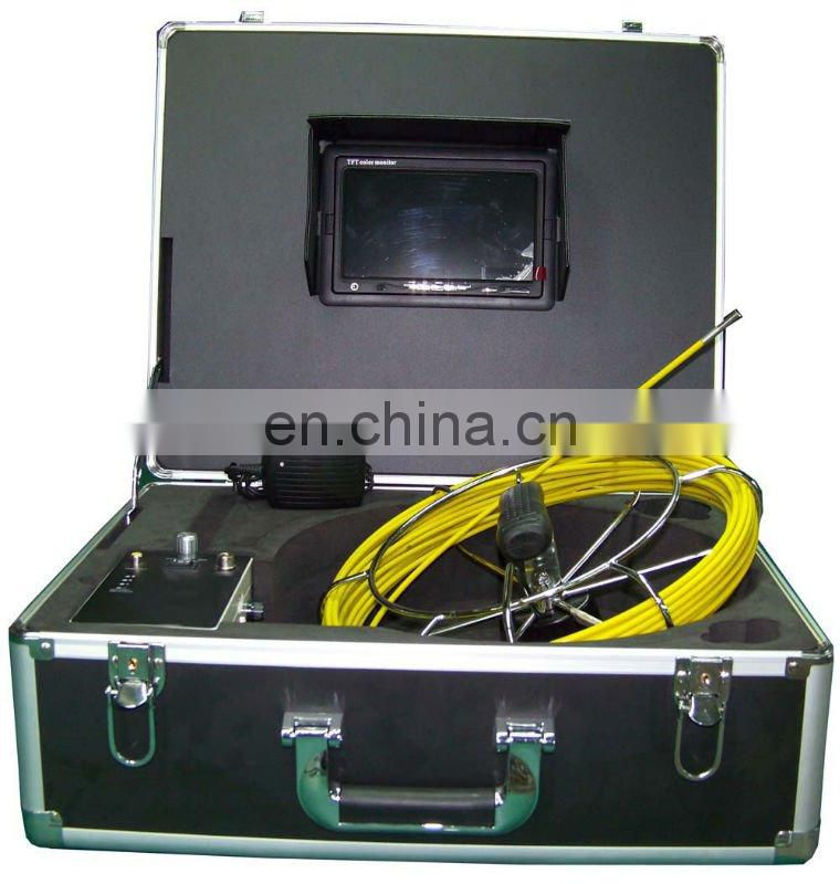 "7"" TFT Color Monitor Pipe Weld Inspection Camera&Wall Inspection Camera System TEC-Z710-5"