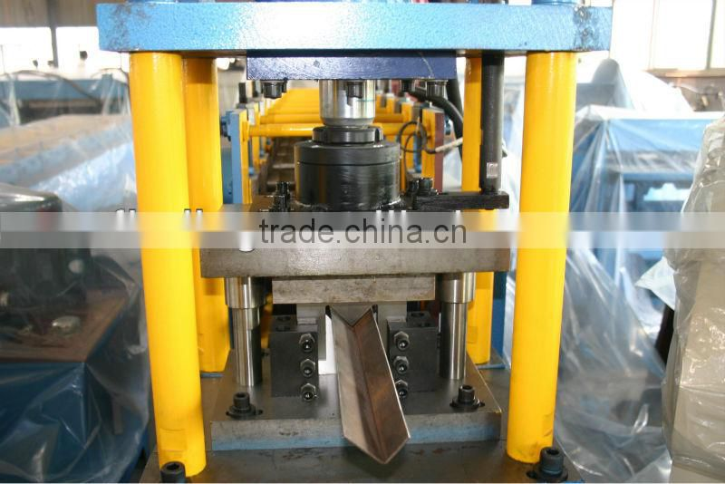 used trapezoidal metal color roof tile panel roll forming making machine