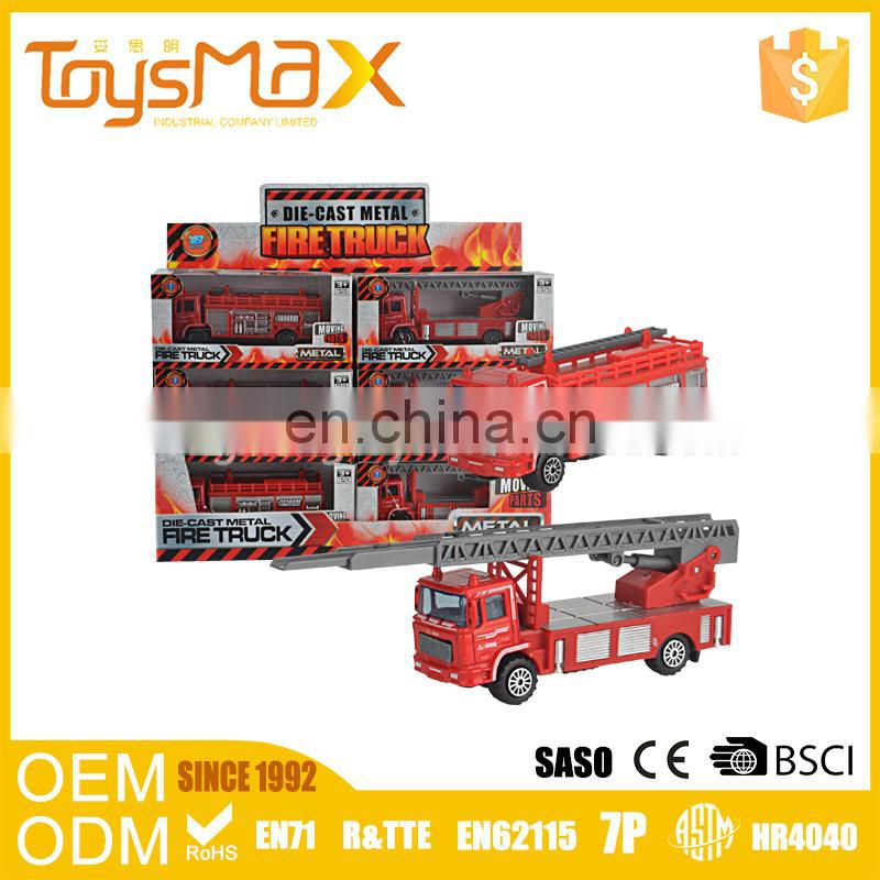 Hot New Products Alloy Fire Engine Diecast Toys For Sale