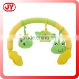 Hot selling newborn funny baby bed hanging toys with BB sound