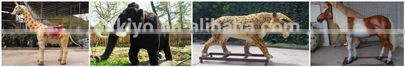 zoo life size high simulation animal of panther