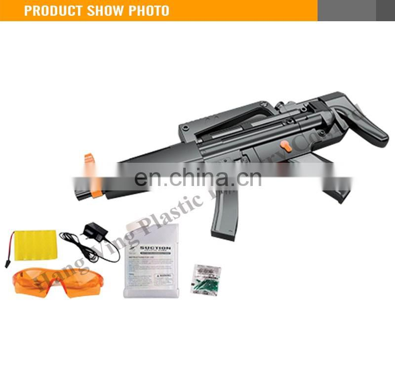 New Design MP5 Black Kids Plastic Electric Soft Water Bullet Gun