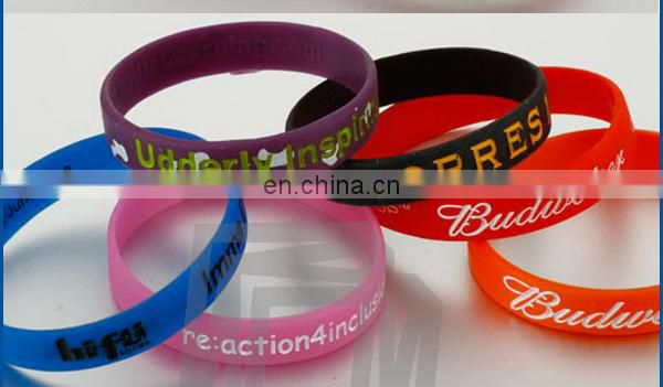 New Personalized Most Popular Silicone Bracelets
