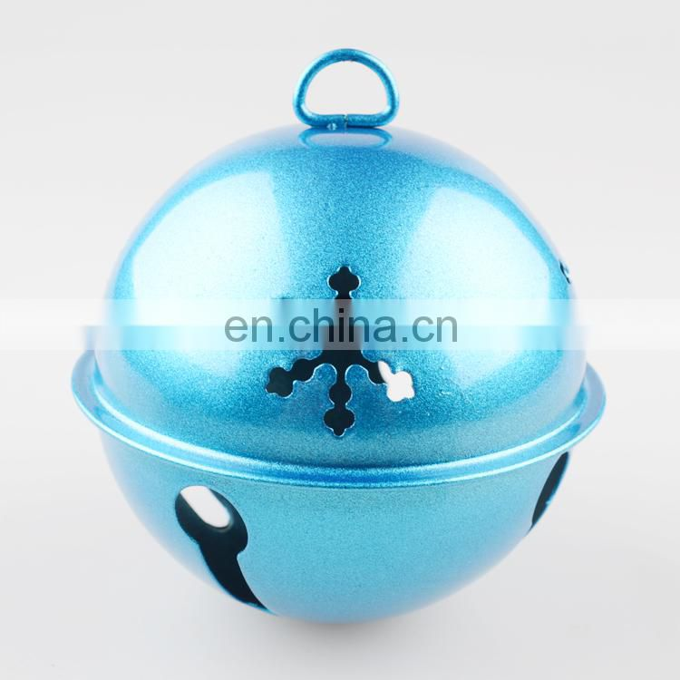 For sale bling bling blue iron metal bell
